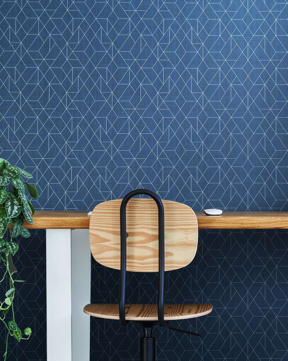 Design Trends - Herring Bone Wallpaper